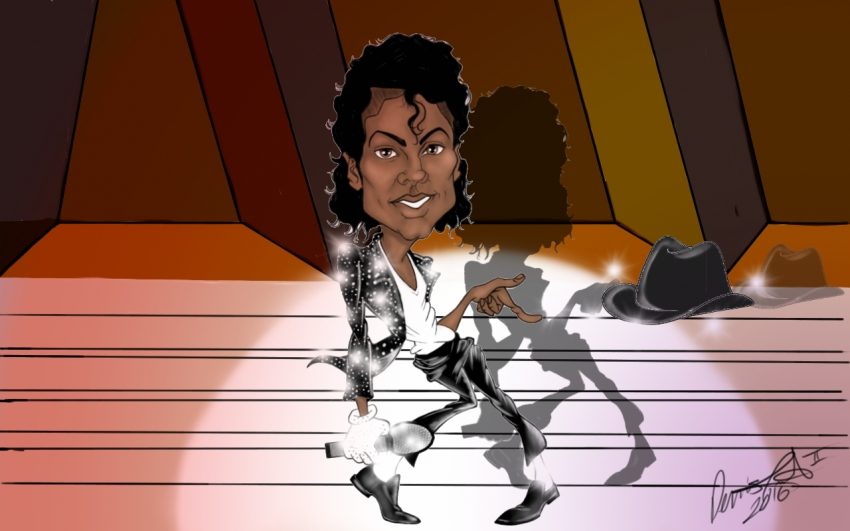 Michael Jackson by DCR2